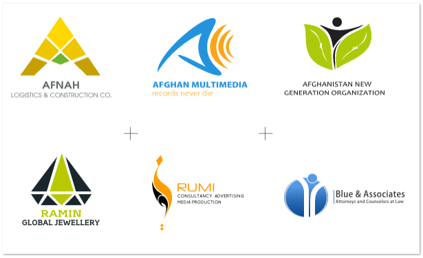 Logo Design Afghanistan Host Web Hosting